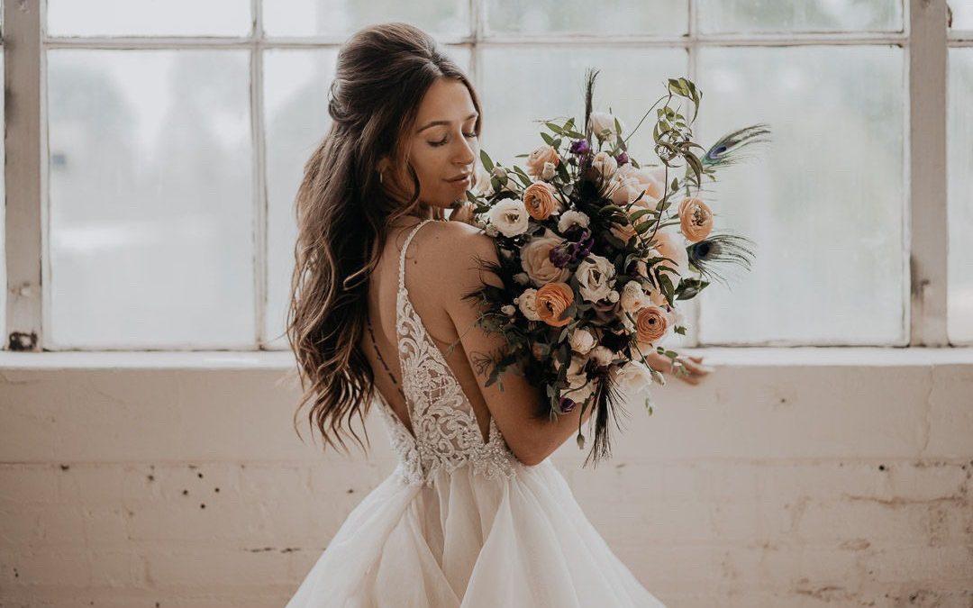 Trouver la robe parfaite pour le jour de son mariage.